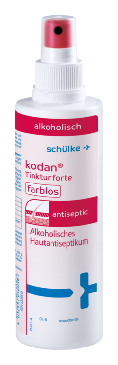 kodan® Tinktur Forte farblose Hautdesinfektion